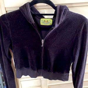 Cropped Juicy Couture terricloth Jacket